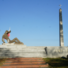"Pomnik"" GLORIA VICTIS"" w Wąsoszu"