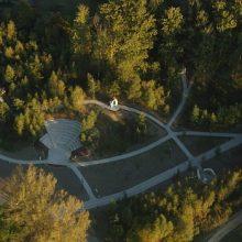 Zagospodarowanie terenu Kalwarii Wąsowskie 3