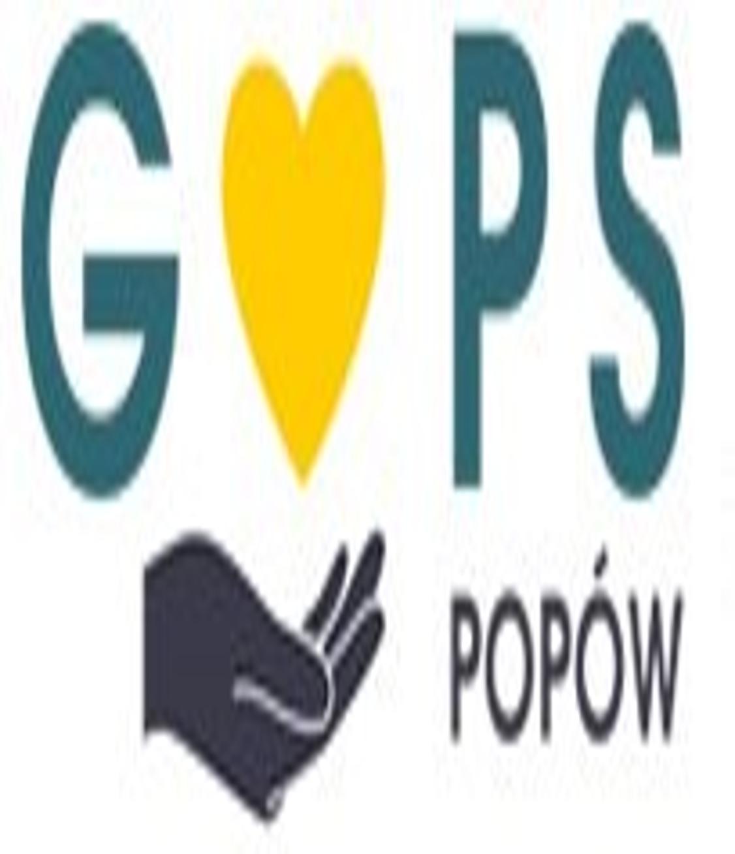 Obrazek przedstawiający logo Gminnego ośrodka pomocy społeczej w Popowie