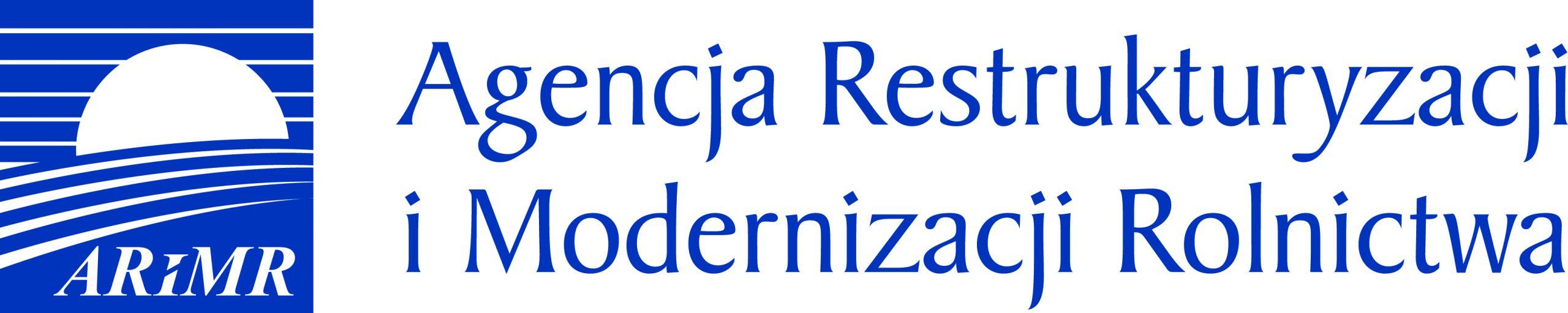 Obrazek przedstawia logo ARiMR