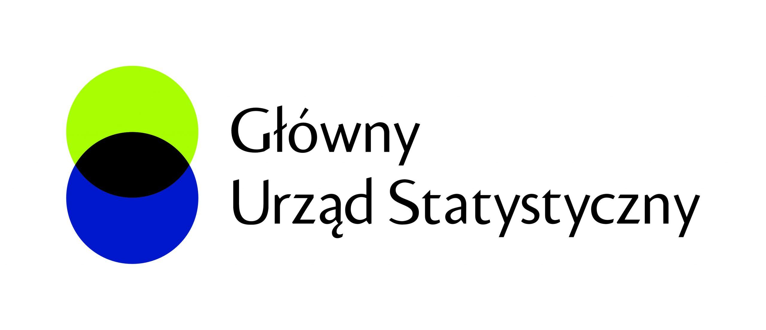 Obrazek przedstawia logo Głównego Urzędu Statystycznego