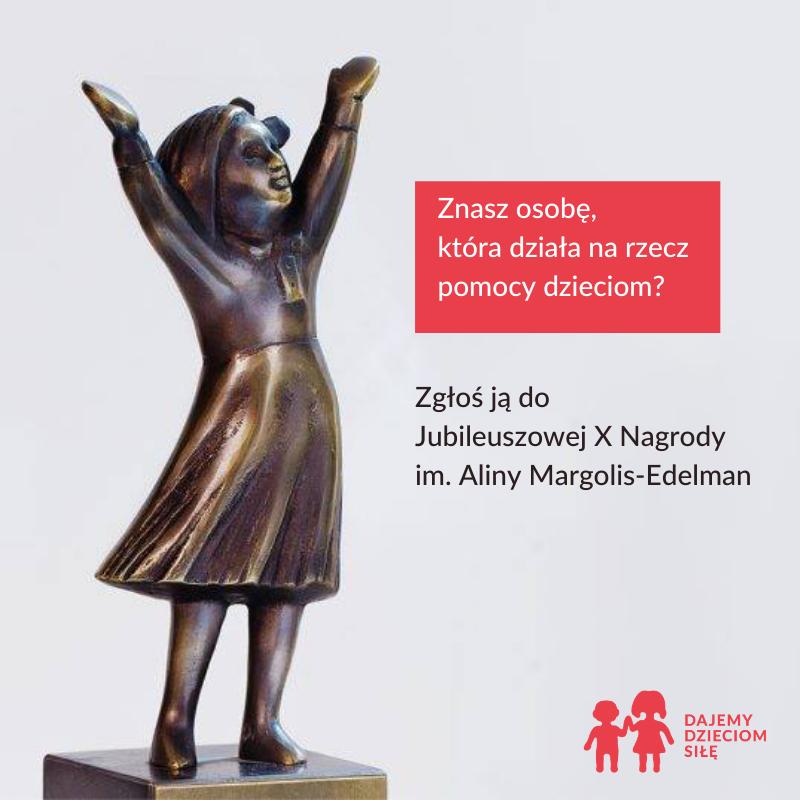 Obrazek przedstawia plakat promujący pomoc dzieciom