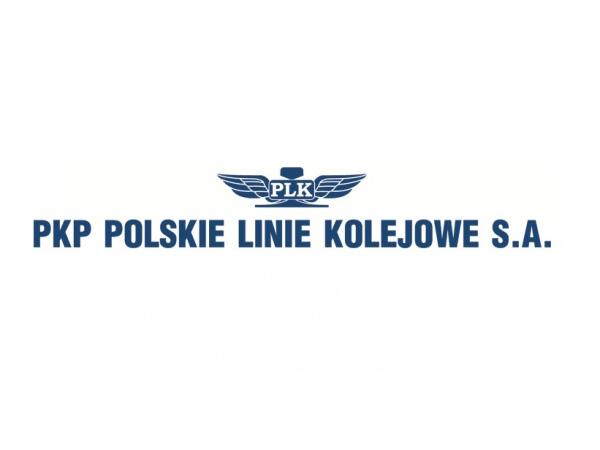 Obrazek przedstawia logo PKP Polskich Lini Kolejowych