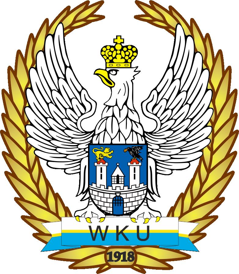 Obrazek przedstawia herb Wojskowej Komisji Uzupełnień w Częstochowie