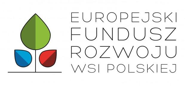 Obrazek przedstawia logo Europejskiego Funduszu Rozwoju Wsi Polskiej