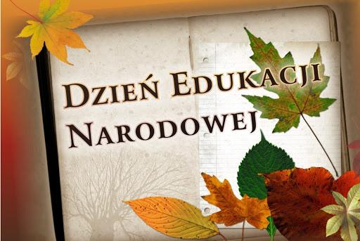 Obrazek przedstawia jesień i dzień edukacji